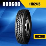 Автошина 11r24.5 11r22.5 тележки низкой цены Roogoo коммерчески
