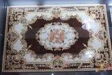Azulejo cristalino de cerámica de la alfombra del resplandor con la luz fluorescente