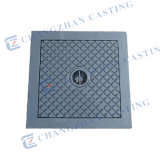 En 124 Ductile Iron ou Grey Iron Square Manhole Covers