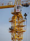 Aufbau-Gebäude-Oberseite-Installationssatz-Turmkran des Cer-Qtz80 5613 8t