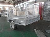 De goede Aanhangwagen van de Asbus van de Prijs Enige Met Kooi