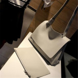 Het hete Verkopen maakte de Enige Handtas van de Boodschapper van de Schouder (in reliëf GB#SG439J)