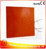 calefator do silicone da esteira do aquecimento da cadeira da borracha de silicone de 12V 300*300mm