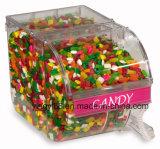 Caixa acrílica dos doces de Yyb com etiqueta