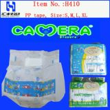 China Baby Diaper mit Sticky Tapes und Excellent Absorbent (H410)