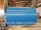 L'acier galvanisé enduit d'une première couche de peinture enroule PPGL