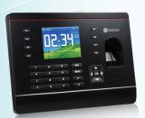 Máquina de grabación de atención del tiempo de Realand con el diseño negro a-C061 de Colr
