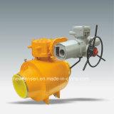 Faire-dans le robinet à tournant sphérique de canalisation de gas-oil de la Chine