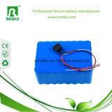 Li-ion 2.2ah 18650 batería del Litio-Ion de 2200 mAh para la E-Bici