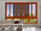 Qualitäts-heißes verkaufenaluminium-schiebendes Fenster mit Crimsafe Flyscreen