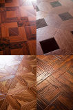 Hogar/Commercial 8.3mm/12.3m m Fashion HDF Art Parquet Laminate Flooring
