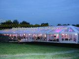PVC desobstruído Guangzhou da extensão barato 250 do partido medieval de alumínio da exposição do evento do festival de Seater barraca Wedding transparente do famoso 20X50m