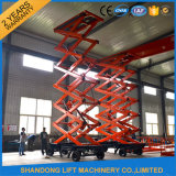 4-20m Four-Wheels Mobile Hydraulic Scissor Platform Lift