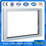 中国の製造者の白い上塗を施してあるアルミニウム固定ガラス窓