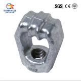 造られた鋼鉄単一繊維曲げられたアイレットか単一の指ぬきの目棒