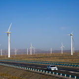 중국에 있는 튼튼한 풍력 탑