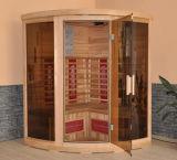 3-5 sauna infrarroja de las personas con el calentador de cerámica