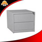 Постучайте вниз шкафа для картотеки ящика металла 2 офиса шкафом хранения архива цветастого стальным боковым