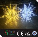 خارجيّة عيد ميلاد المسيح شارع زخرفة [3د] نجم الحافز ضوء