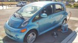 Caricatore veloce per l'automobile elettrica