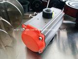 Pneumatischer Stellzylinder-Serien-unterschiedliches Dichtungs-Material für hohe oder niedrige Temperatur