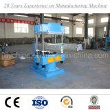 Estera de goma que hace la máquina de vulcanización de la prensa de la placa con el certificado de la ISO del Ce