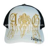 より厚く快適な野球のスポーツの網の帽子(TRT015)をステッチする5パネル