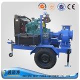 Trailer Horizontal unidade Diesel de esgoto bomba de água