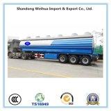 Популярный трейлер нефтяного танкера 2 Axles оборудованный с одной стандартной резцовой коробка