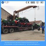 China 55 HP 4WD mini landwirtschaftlicher/Diesel-/Vertrags-/Rasen-Traktor für die Landwirtschaft