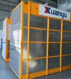 Simple / doble jaula de Super Material Altura de pasajeros y la construcción de ascensores