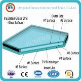 vidro isolado desobstruído de 8mm+12A=8mm para edifícios