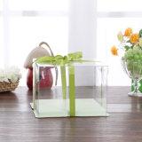 OEMの環境に優しい折るパッキング食品等級のプラスチック菓子器(ペットボックス)