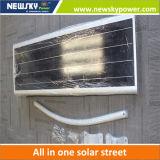 60W LED ha integrato tutti in un indicatore luminoso di via solare con Ce