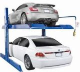 電気リリース4ポストの自動駐車上昇か車の駐車上昇