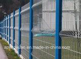 Rete fissa saldata curvature triangolari della rete metallica della rete fissa della rete metallica e del giardino delle curvature