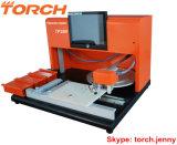 Machine de transfert visuelle de bureau Tp39V (TORCHE) de SMT