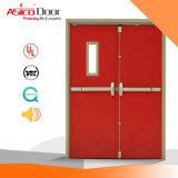 UL에 의하여 증명되는 강철 문을%s 가진 내화성이 있는 문 강철 또는 금속 방화문