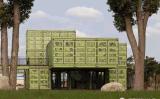 Chambre préfabriquée recyclable et mobile de conteneur (cabine de conteneur)