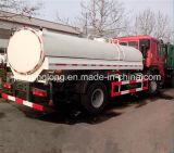 HOWO 4X2 10000L 물 탱크 트럭 10cbm 유조 트럭