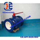 Valvola a sfera di ceramica di galleggiamento dell'acciaio di getto dei residui di API/DIN