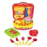 Jogos plásticos da cozinha das crianças da novidade DIY com luz e música instantâneas (10217723)