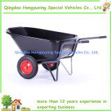 Grande carriola del PVC di grande capienza con due rotelle