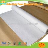 tipo de papel rodillo blanco de 60GSM Woodfree del papel compensado del trazador de gráficos en la fábrica de la ropa para la impresión de la inyección de tinta