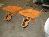 頑丈で大きい金属の皿の一輪車(Wb6200)