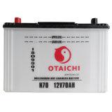 Batería de coche del almacenaje 70Ah (OTAICHI) (N70)