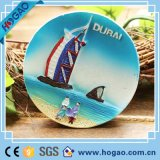 magnete marino del frigorifero del ricordo di Polyresin della barca di navigazione 3D