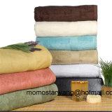 Serviette de luxe de Bath de coton du bambou 30% de 70% grande
