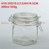 frasco de vidro do vidro do alimento do frasco do armazenamento 400ml