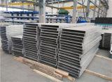 O alumínio expulsou perfil para a construção do molde